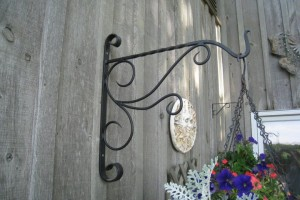 Custom Metal Basket Hangers